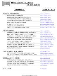 Basic Home Hvac Design Hvac Design Solutions Hvac Airside Design