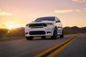 here comes the new 2018 dodge durango srt fastest 3 row suv