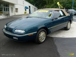 chrysler lebaron 1995 spruce pearl chrysler lebaron gtc convertible 15812953