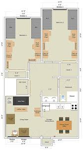 Garden Floor Plan by Nittany Apartments 2 Bedroom Garden Apartment Penn State