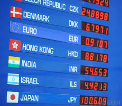 Exchange Rate What Are Exchange Rates With Pictures