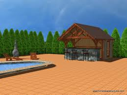 House Plans With Pool House Timber Frame Pool House Plans Homes Zone