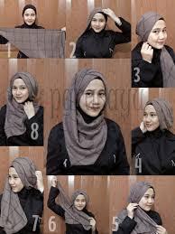 tutorial jilbab remaja yang simple tutorial hijab remaja masa kini yang mudah dan menarik