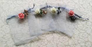 organza drawstring bags 10 organza bags wedding favor bags candy drawstring bags