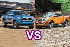 nissan truck frontier 2016 toyota tacoma vs 2016 nissan navara frontier np300 design