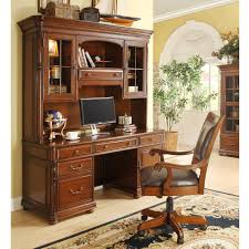 Executive Desk With Hutch Liberty Furniture Brayton Manor Jr Executive 3 Set Hayneedle