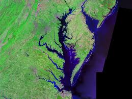 Blank Map Of Virginia by Chesapeake Bay Wikipedia