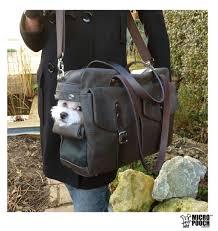 the u0027boxy holdall u0027 dog carrier bag purse by micro pooch