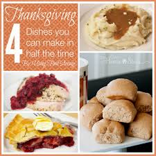 4 thanksgiving dishes you can make in half the time with food