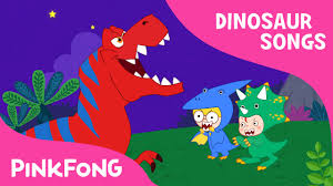 move like the dinosaurs dinosaur songs pinkfong songs for