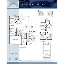 Floor Plan Castle by New Castle Ii Rock Springs Ridge Apopka Florida D R Horton