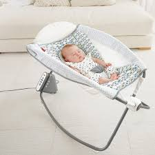 Baby Automatic Rocking Chair Amazon Com Fisher Price Auto Rock U0027n Play Sleeper Aqua Stone Baby