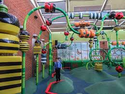 the backyard playgound at rouse hill town centre