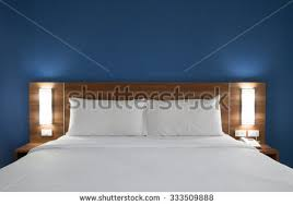 Wooden Headboards For Double Beds by Bed Headboard Stock Images Royalty Free Images U0026 Vectors