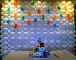 Balloon Decoration For Birthday At Home by Balloon Decoration Ideas On Wall Home Decor Ideas