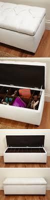 shoe storage ottoman bench upholstered shoe storage ottoman bench need this so perfect for