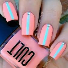 Super Easy Nail Art Designs And Ideas For  Pretty Designs - Easy at home nail designs