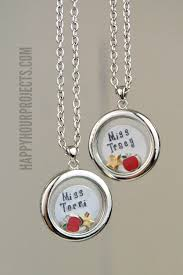 personalized locket necklace appreciation personalized lockets happy hour projects