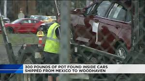halloween city sonora 277 pounds of marijuana found in downriver shipment of ford