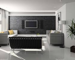 Wallpaper Home Interior Black And White Living Room Design And Ideas Inspirationseek Com