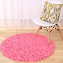 popular round chenille rug buy cheap round chenille rug lots from