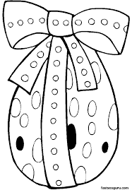 page 47 printable standing easter egg decorate coloring page