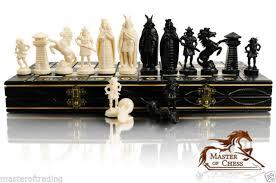 decorative chess set decorative chess set 42x42 stunning chessboard unusual pieces ebay