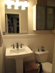 pedestal sink bathroom ideas small pedestal sink moutard co