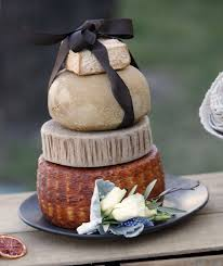 wedding cakes wi will you dairy me cheese wheel wedding cakes a hit with