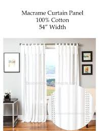 White Tab Top Curtains Tab Top Curtains Easy Tab Top Curtain Panels Tab Top Curtains