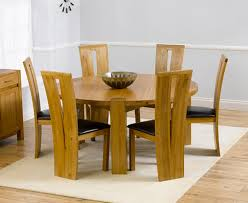 solid oak round dining table 6 chairs solid oak round dining table and 6 chairs round designs