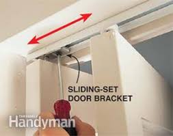 Fixing Bifold Closet Doors How To Fix A Bifold Door Family Handyman