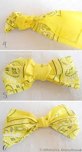 bandana bow craftaholics anonymous bandana wreath tutorial