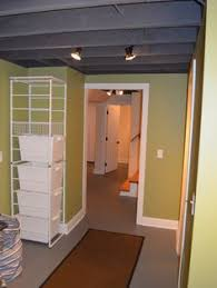 Unfinished Basement Ceiling by Unfinished Basement Ceiling Design Ideas Pictures Remodel And
