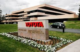 toyota pay my bill toyota to consolidate u s operations in texas wsj
