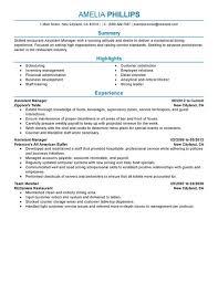Fast Food Job Description For by 6 Assistant Manager Job Description Resume Job Duties Assistant
