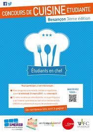 concours de cuisine concours de cuisine étudiante l actu de l université de franche comté