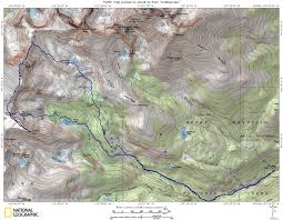 Map Of Colorado 14ers by Mount Alice U0026 Tanima Peak Guide Mountainous Words