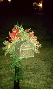 Christmas Mailbox Decoration Ideas 65 Best Outdoor Mailbox Decor Images On Pinterest Mail Boxes