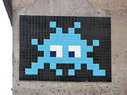 space invader street art pop art pinterest space invaders space invader