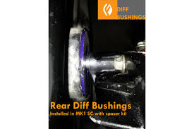 lexus is gs ls gs ls sc supra rear differential mount polyurethane bushings