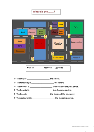 map prepositions worksheet free esl printable worksheets made by