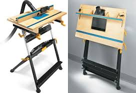 fold up router table woodworking online
