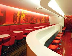 Best Fast Food Interiors Images On Pinterest Restaurant - Fast food interior design ideas