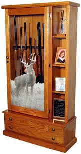 oak gun cabinet best cabinet decoration