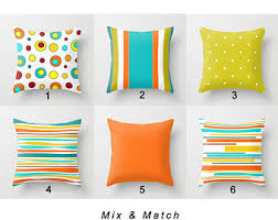 patio pillow cover outdoor pillow colorful pillow heart