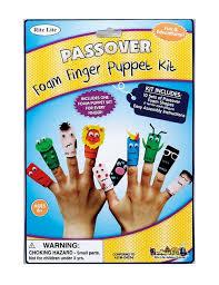 passover plague masks pesach ten plagues finger puppet kit yourholylandstore