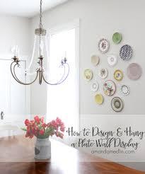 how to design u0026 hang a plate wall display amanda medlin