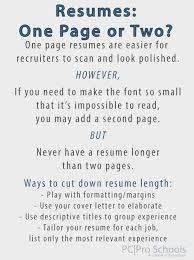 Should A Resume Be 2 Pages Cheap Resume Writing Services Sydney Conservation Water Resources