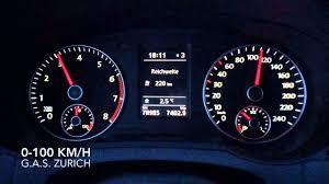 seat alhambra 1 4 tsi 0 100 km h acceleration youtube